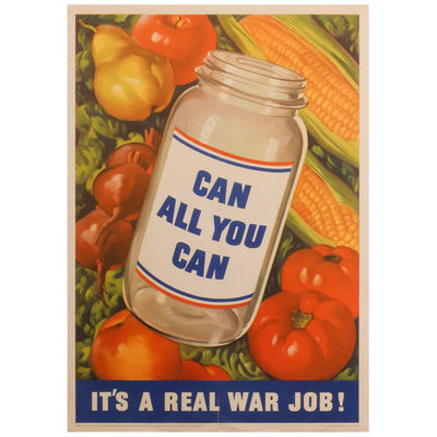 Can All You Can: It's a Real War Job