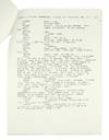 View Image 1 of 2 for Apollo 11 Mission Control Commentary of the First Lunar Landing. Original typescript headed - Apollo... Inventory #124191