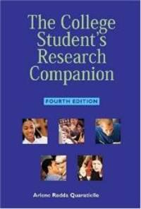 College Student's Research Companion, Fourth Edition