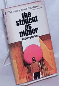 image of The student as Nigger, essays and stories