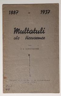 image of Multatuli als Hervormer. 1887-1937