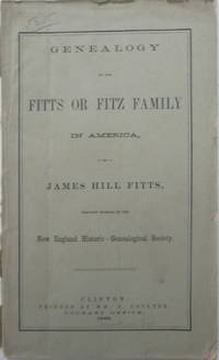 image of Genealogy of the Fitts or Fitz Family in America