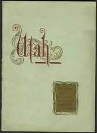 Utah.  A Peep into a Mountain Walled Treasury of the Gods