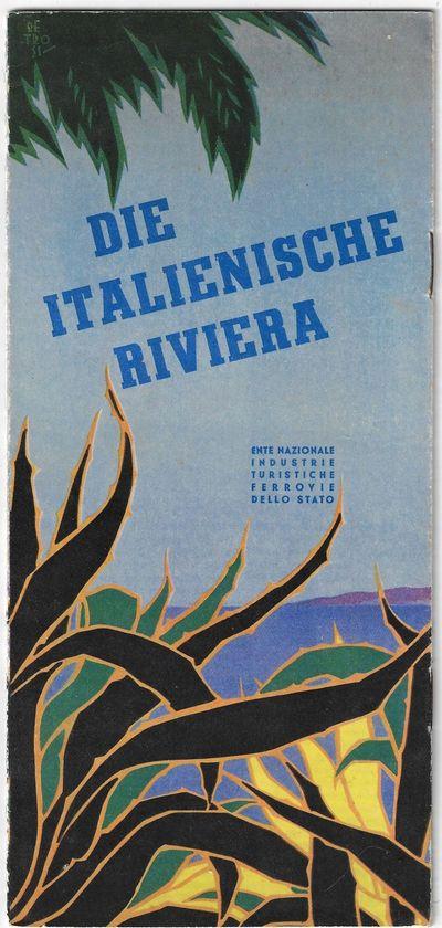 Roma: Ente Nazionale Industrie Turistiche Ferrovie dello Stato, 1934. Softcover. Very good. Travel b...