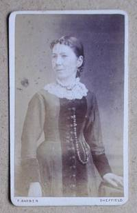Carte De Visite Photograph: Portrait of a Woman.
