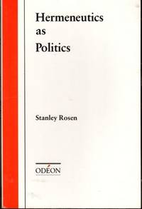 Hermeneutics as Politics