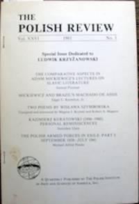 Mickiewicz and Brazil's Machado de Assis
