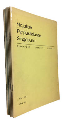 Majallah perpustakaan Singapura. Singapore Library Journal. Vol. 1-3 (April 1961-April 1964)