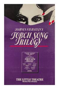 TORCH SONG TRILOGY (1982) Broadway window card