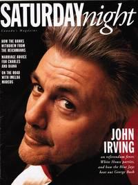 image of SATURDAY NIGHT 1993: JOHN IRVING