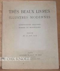 Paris: Auguste Blaizot & Fils, 1939. stiff paper wrappers. Bookbinding. 4to. stiff paper wrappers. 5...