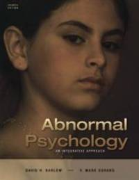 image of Abnormal Psychology: An Integrative Approach (with CD-ROM and InfoTrac)