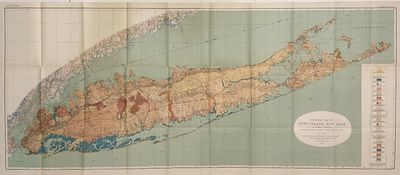 Washington: United States Geological Survey, 1913. unbound. Map. Color lithograph. 27 1/2