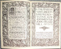 Utilitarianism Liberty & Representative Government (Everyman Library)