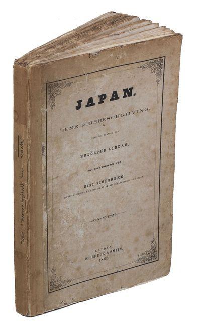 Japan. Eene reisbeschrijving. Leiden,...