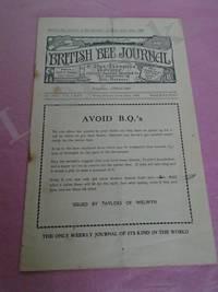 The British Bee Journal & Bee-keepers Adviser. No. 3649. Vol. LXXX, Week Ending June 14th, 1952