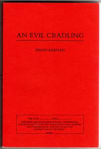 image of An Evil Cradling [COLLECTIBLE UNREVISED AND UNPUBLISHED PROOF COPY]