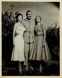 """Clark Gable, Grace Kelly, Ava Gardner in """"Mogambo.""""  2 vintage photographs"""