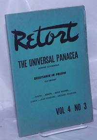 image of Retort. An anarchist quarterly of social philosophy and the arts.  Vol. 4, no. 3, Winter, 1949