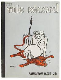 THE YALE RECORD : PRINCETON ISSUE - 25¢. Volume LXXXV, No. 3. November, 1956