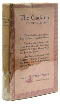 image of The Crack-up. - With Other Uncollected Pieces, Note-Books and Unpublished Letters. Edited by Edmund Wilson