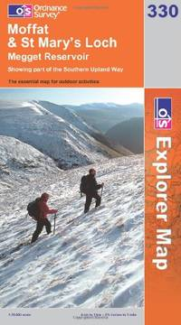 image of Moffat and St Mary's Loch (OS Explorer Map Series)