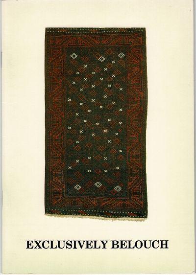 Cheltenham: J. P. J. Homer Oriental Rugs, 1986. 8vo, pp. , 39; chiefly color photographic plates pri...