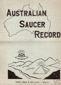 Australian Saucer Record [Australian Flying Saucer Research Society]- 2nd Quarter 1958. Townsville and Geraldton Sightings. UFO / from Max Miller's Collection