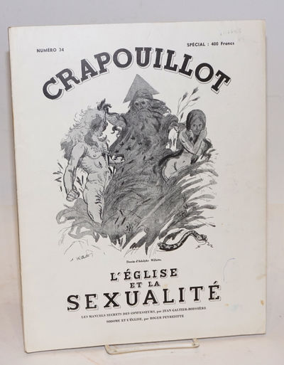 Paris: Crapouillot, 1956. Magazine. 72p., 9.5x12.5 inches, text in French, profusely illustrated wit...