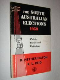 The South Australian Elections 1959