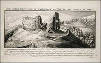 North West View Of Caergwrley Castle in the County of Flint.Samuel and Nathaniel Buck, 1742