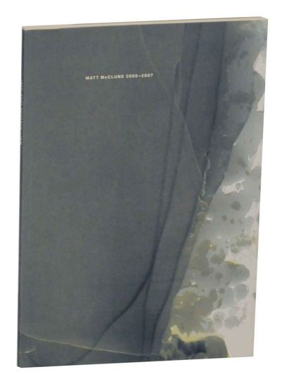 Basel: Galerie Katharina Krohn, 2007. First edition. Softcover. Text in English and German. Includes...