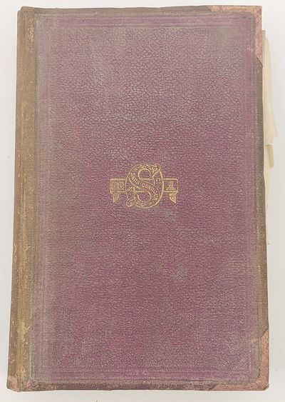 London: Saunders, Otley, and Co, 1862. First Edition. Hardcover. Octavo; iv;;367pp. Bound in full pu...