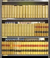 Delaware Reports. Vols. 1-55; 58-59 (1832-1966) lacking vols 56-57