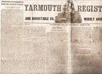 YARMOUTH REGISTER AND BARNSTABLE CO. WEEKLY ADVERTISER,  Vol IX, No. 14,  March 20, 1845