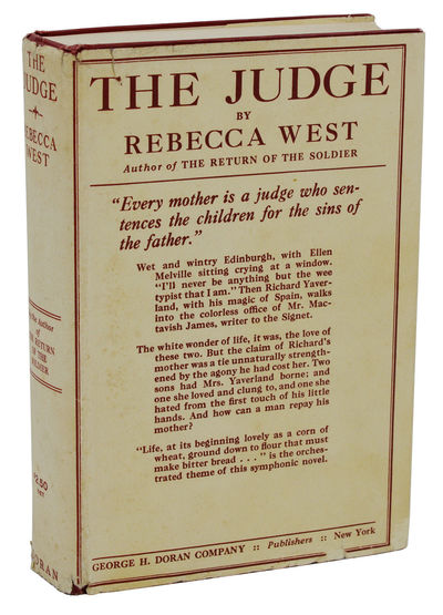 New York: George H. Doran Company, 1922. First Edition. Hardcover. Very Good. First edition, first p...