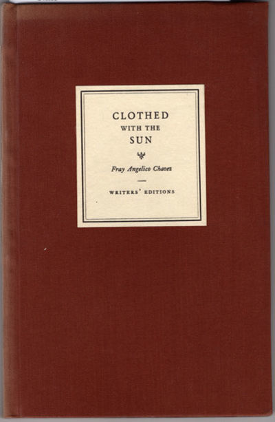 Santa Fe, NM: Writers' Editions, Inc., 1939. Poetry volume issued by one of the most notable publish...