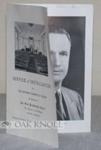 Milford: The First Presbyterian Church, 1949. self paper wrappers. First Presbyterian Church. small ...