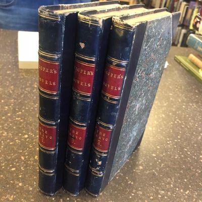 London: Henry Colburn and Richard Bentley, 1831. First Edition. Hardcover. 8vo., 3 volumes; VG; 3/4 ...