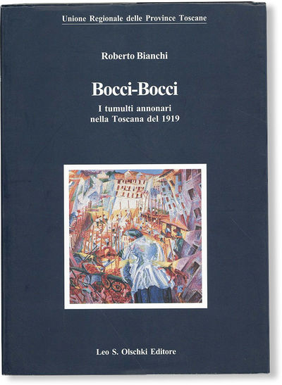 Firenze: Leo S. Olschki Editore, 2001. First Edition. Octavo (21cm.); publisher's card wrappers in b...