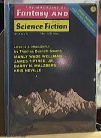 image of Fantasy and Science Fiction; Volume 42 Number 3, March 1972