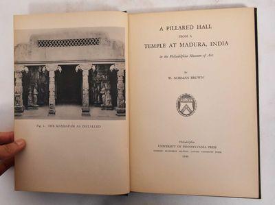 Philadelphia: University of Pennsylvania Press, 1940. Hardcover. Good+. scuffs, scratches & marks to...