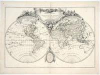 Mappe-monde ou description du globe terrestre, assujettie aux observations astronomiques par le Sr. Janvier Geographe. Avec privilege du Roi. 1762