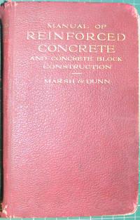 Manual Of Reinforced Concrete And Concrete Block Construction