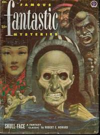 "image of FAMOUS FANTASTIC MYSTERIES: December, Dec. 1952 (""Skull-Face""; ""Killdozer!"")"