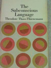 The Subconscious Language  (1967,Hardback)1ST.EDITION