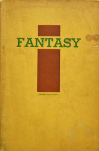 Fantasy A Literary Quarterly with an Emphasis on Poetry Fifth Year Number 4