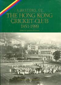 image of a History of the Hong Kong Cricket Club 1851-1989.