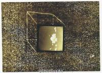 JENNY LYNN POSTCARD OF CLOUD CUBE FROM EXTRAPOLATIONS BLACK AND WHITE  PHOTOGRAPH WITH DRAWING