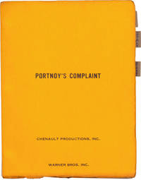 image of Portnoy's Complaint (Original screenplay, cinematographer Philip Lathrop's working copy)